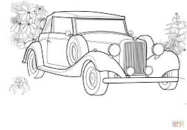 Old Ford Truck Coloring Pages - rolls royce coloring page free printable coloring pages