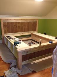 Platform Storage Bed Plans With Drawers by Teds Woodworking Plans Review Drawers Storage And Bedrooms