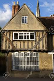Tudor Style by Old English Tudor Style Town House Stock Photo Picture And