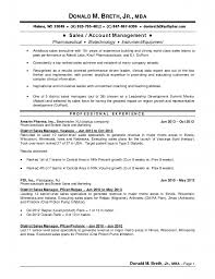 Sales Manager Resume Sample  sample resume for sales manager sales     happytom co