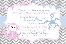 Invitation Cards For Baby Shower Templates Template Twins Baby Shower Invitation Wording