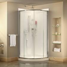 corner shower stalls kits showers the home depot prime