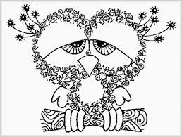 owl coloring pages for adults 03 let u0027s color pinterest owl