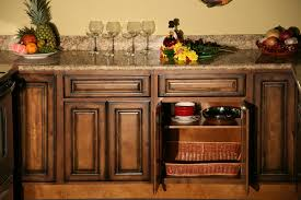 glaze kitchen cabinets