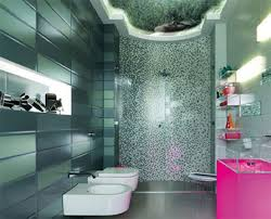 bathroom ideas for small bathrooms tiles with green color with