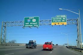 San Antonio Airport Exit
