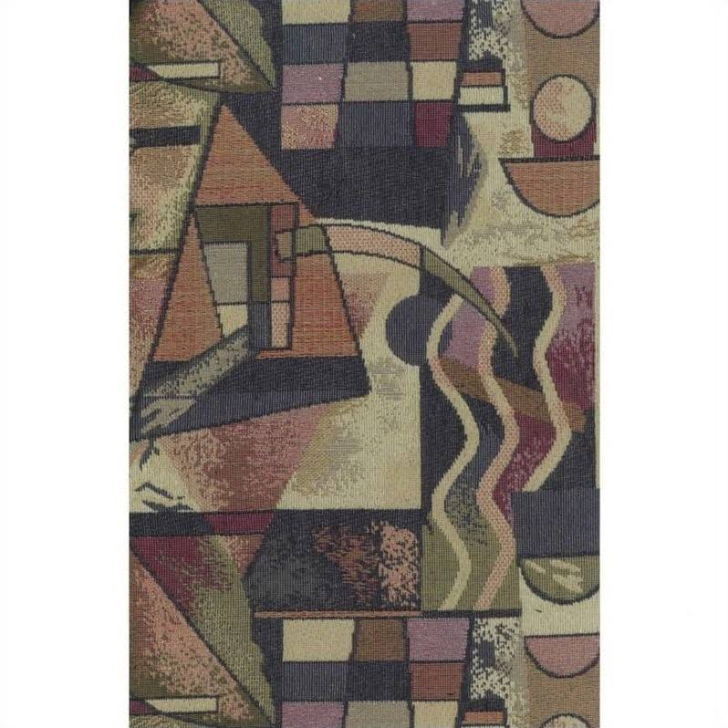 Blazing Needles S/5 Tapestry Futon Cover Package In Picasso - 9680-cd-tp-01