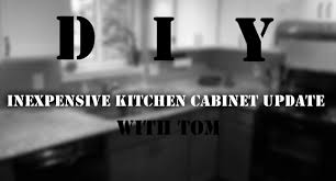 Kitchen Cabinet Refacing Diy by Easy Inexpensive Diy Kitchen Cabinet Reface With Trim And Paint