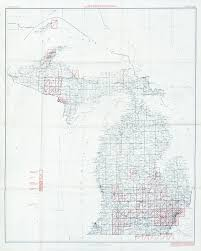 Detroit Michigan Map by