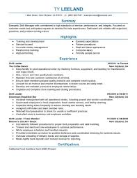 Resume Samples Grocery Store by Best Hourly Shift Manager Resume Example Livecareer