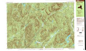 New York State Map by New York Topo Maps 7 5 Minute Topographic Maps 1 24 000 Scale