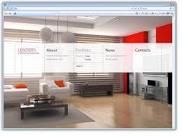 Interior Designer Website by Web Design Website Design For Architecture And Design Bureau
