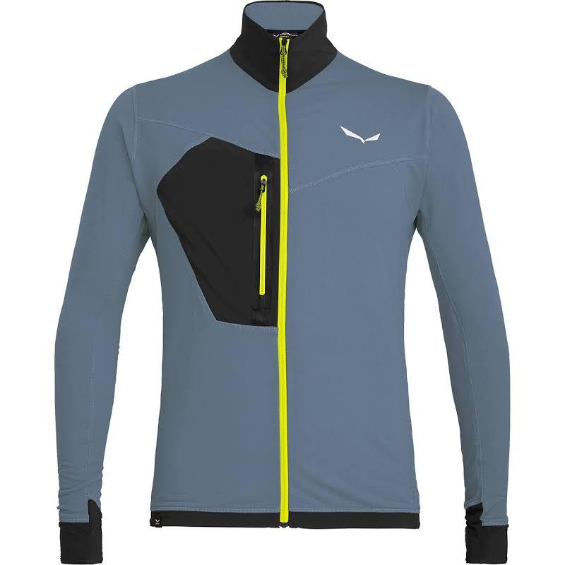 Salewa Pedroc Polartec Full Zip Fleece Jacket Flint Stone Medium 00-0000027120-311-M