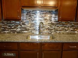 mosaic tile kitchen backsplash gold stainless steel tile tiles full size of