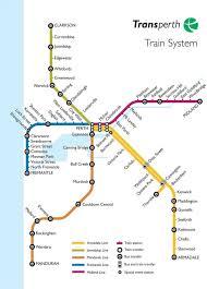 train map perth perth train line map australia