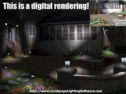 landscape lighting effects program night lighting examples