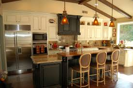 kitchen style brown cabinet granite countertop galley kitchen