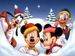 disney christmas Wallpaper