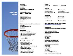 Sample RMS Athletic Resume  Highlight Video and Athletics  Personal Statement  Coach References and Measurables