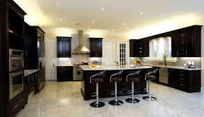 Dark Kitchen Cabinets With Backsplash Bathroom Glamorous Dark Kitchens Wood And Black Kitchen Cabinets