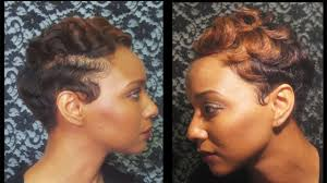 how to watch how i finger wave and curl my short hair youtube