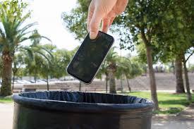Burner Phone in the Trash