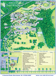 Map Nj Campus Map And Directions College Of Saint Elizabeth