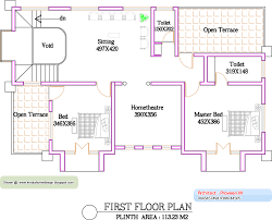 sq ft house plans in kerala also beautiful 1500 bungalow first