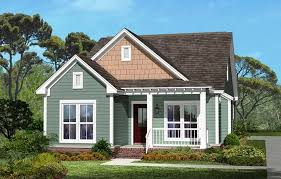 small craftsman style homes with green wall paint color ideas