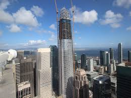 Why are windows added in a somewhat haphazard way on skyscraper construction  I     ve been watching this this as     MetaFilter