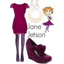 Jetsons Halloween Costumes Jane Jetson Polyvore