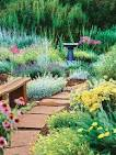 Garden path ideas with natural stone