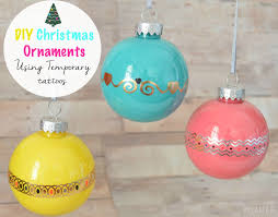 Christmas Tree Ideas 2015 Diy Vikalpah Diy Christmas Ornament Using Temporary Tattoos