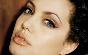 hot angelina jolie image