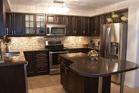 Painted Kitchen Ideas by Wonderful Kitchen Ideas Black Granite Dark Countertops S Intended