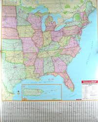 Map Of America With States by Map Of Usa States And Cities East Coast Maps Of Usa East Coast