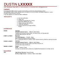 Oilfield Resume Objective Examples by Sample Resume Natural Resources
