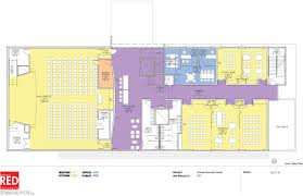 Community Center Floor Plans New Horizons Expansion Project Breaks Ground