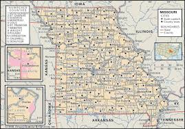 Map Of Iowa State by State And County Maps Of Missouri