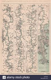 Map Of The Ohio River by American Civil War Mississippi River From The Ohio To Gulf Of