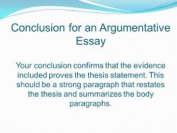 Disjunction introduction argumentative essay