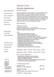 Sample Logistics Resume by Network Administrator Resume It Example Sample Cisco Routers