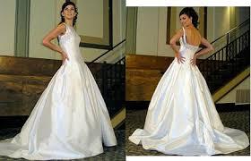 Sabrina Wedding Dress Neckline