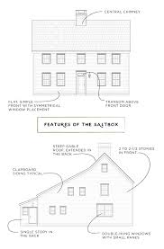 features of a saltbox house architectural style central chimney