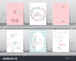 set baby shower invitations