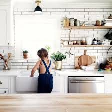 White Subway Tile Backsplash Ideas by 25 Best Subway Tile Kitchen Ideas On Pinterest Subway Tile
