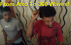 from afro to deep 360 waves on all sides best hairstyle for men