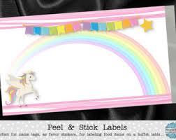 unicorn candy table etsy