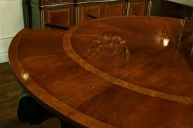 Expandable Table Expandable Round Dining Table Youtube With Regard To Expandable