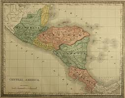 Centro America Map by Map Of Central America C 1885